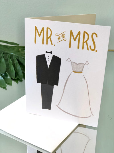 Mr. and Mrs. Card - Wedding
