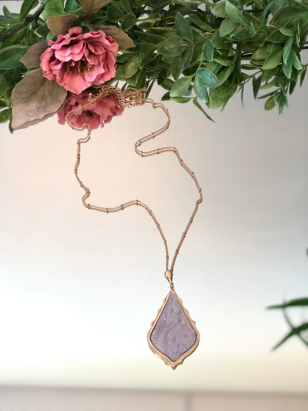 Moonstruck Long Necklace