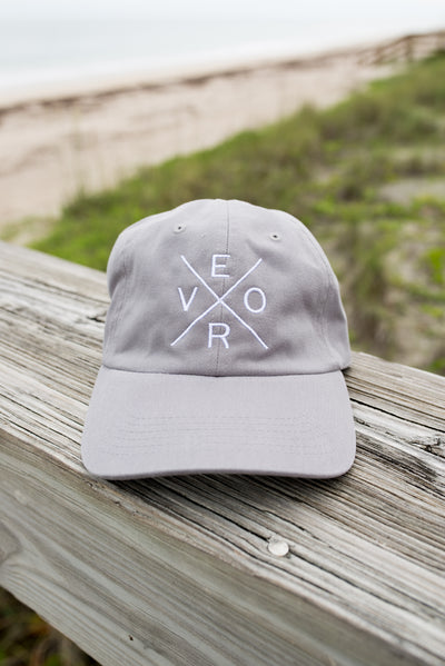 Vero Hat - Grey & White