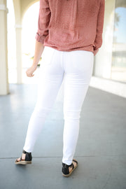 Audrey - Sleek White denim