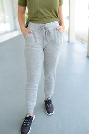 Z Supply - The Marled Jogger - Heather Grey
