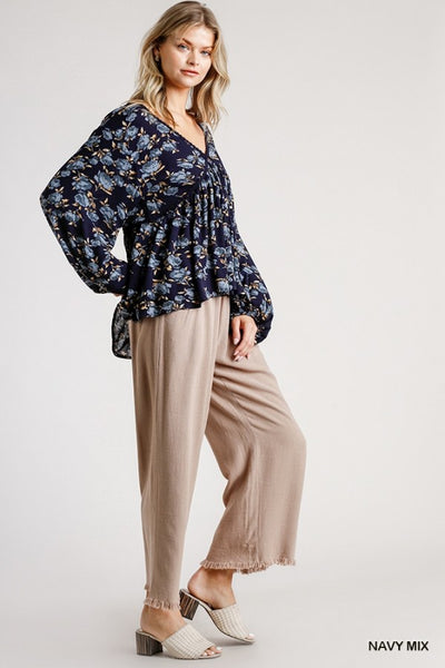The Pinta Floral Blouse
