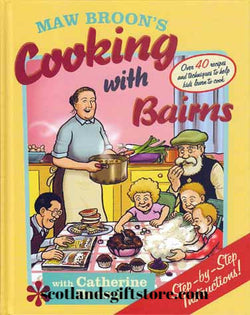 "MAW BROON'S ""COOKING WITH BAIRNS"" - scotlandsgiftstore.co.uk"