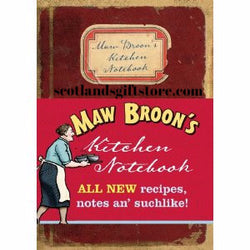 MAW BROON'S KITCHEN NOTEBOOK - scotlandsgiftstore.co.uk