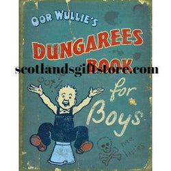 OOR WULLIE'S DUNGAREES BOOK FOR BOYS - scotlandsgiftstore.co.uk