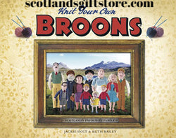 KNIT YOUR OWN BROONS - scotlandsgiftstore.co.uk