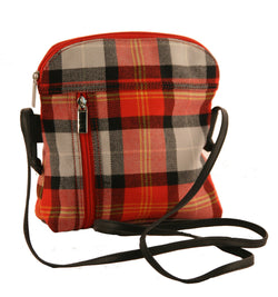 OOR WULLIE TARTAN LADIES HANDBAG - scotlandsgiftstore.co.uk