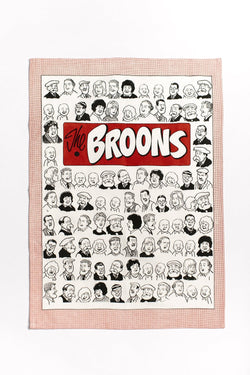 MAW BROONS FAMILY PORTRAITS TEA TOWEL - scotlandsgiftstore.co.uk