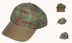 BROONS TARTAN BASEBALL CAP - scotlandsgiftstore.co.uk
