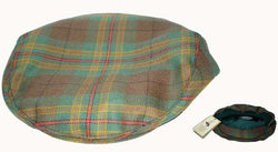 "BROONS TARTAN FLAT CAP - ""BUNNET"" - scotlandsgiftstore.co.uk"