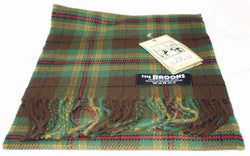 BROONS LAMBSWOOL TARTAN SCARF - scotlandsgiftstore.co.uk