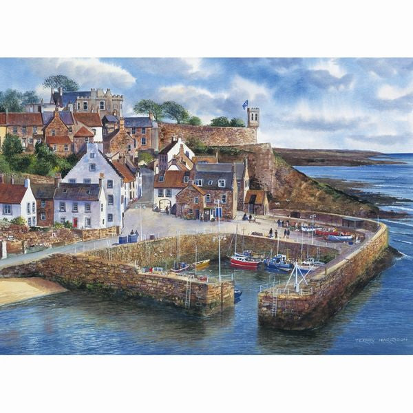 CRAIL HARBOUR 1000PC JIGSAW - scotlandsgiftstore.co.uk