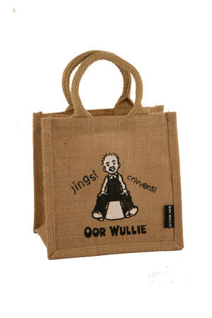 OOR WULLIE JINGS JUTE LUNCH / GIFT BAG - scotlandsgiftstore.co.uk