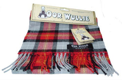 OOR WULLIE LAMBSWOOL TARTAN SCARF - scotlandsgiftstore.co.uk