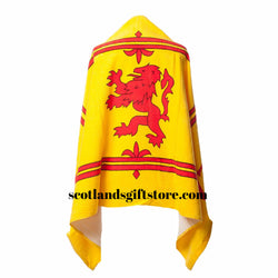 LION RAMPANT FLAG BEACH TOWEL - scotlandsgiftstore.co.uk