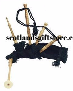 JUNIOR PLAYABLE BLACK WATCH BAGPIPES - scotlandsgiftstore.co.uk