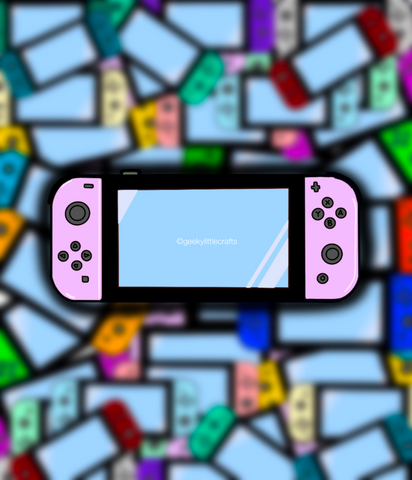 Game Console Sticker