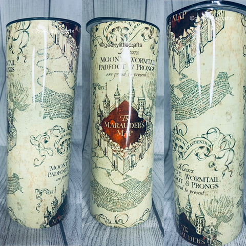 Wizard Map 20oz Tumbler