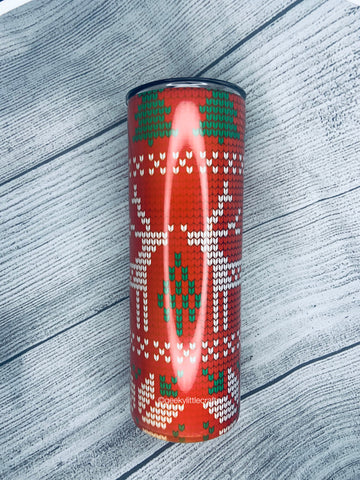 Christmas Sweater 20oz Tumbler