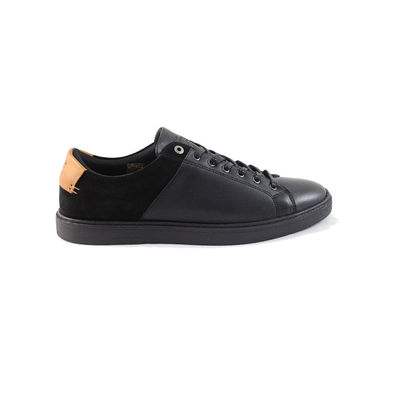 Barbour Ariel Trainer Shoes Black Miami