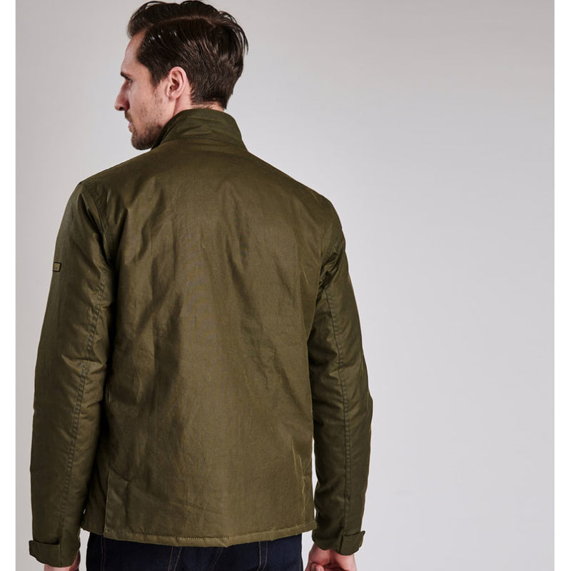 Barbour International Armour Wax Jacket Olive