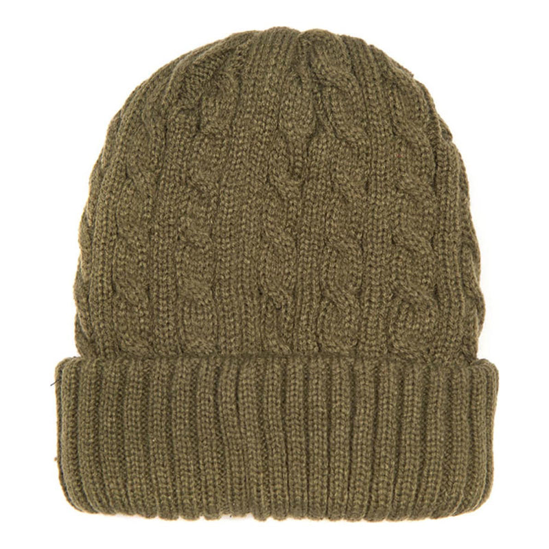 Barbour Balfron Beanie Olive