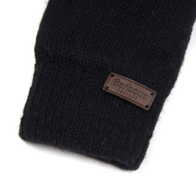 Barbour Carlton Wool Gloves Black