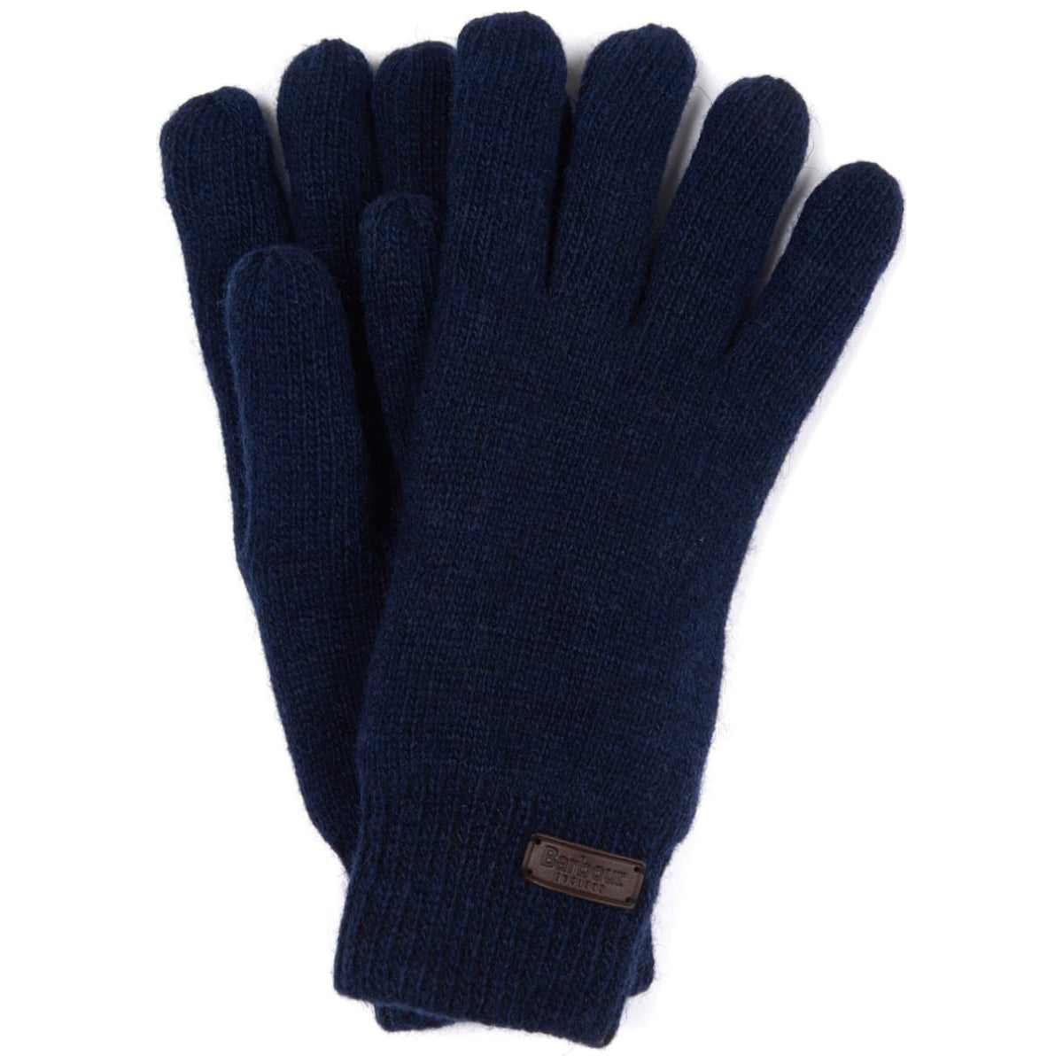 Barbour Carlton Wool Gloves Navy