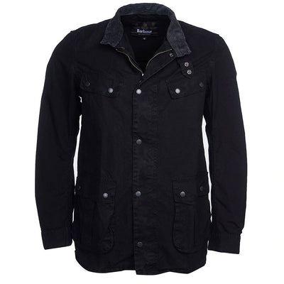Barbour International Coloured Duke Casual Jacket Black