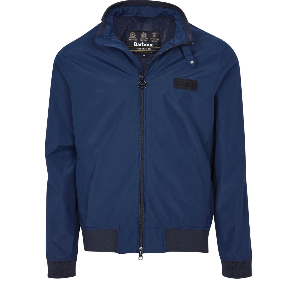 Barbour International Dysart Waterproof Jacket Navy
