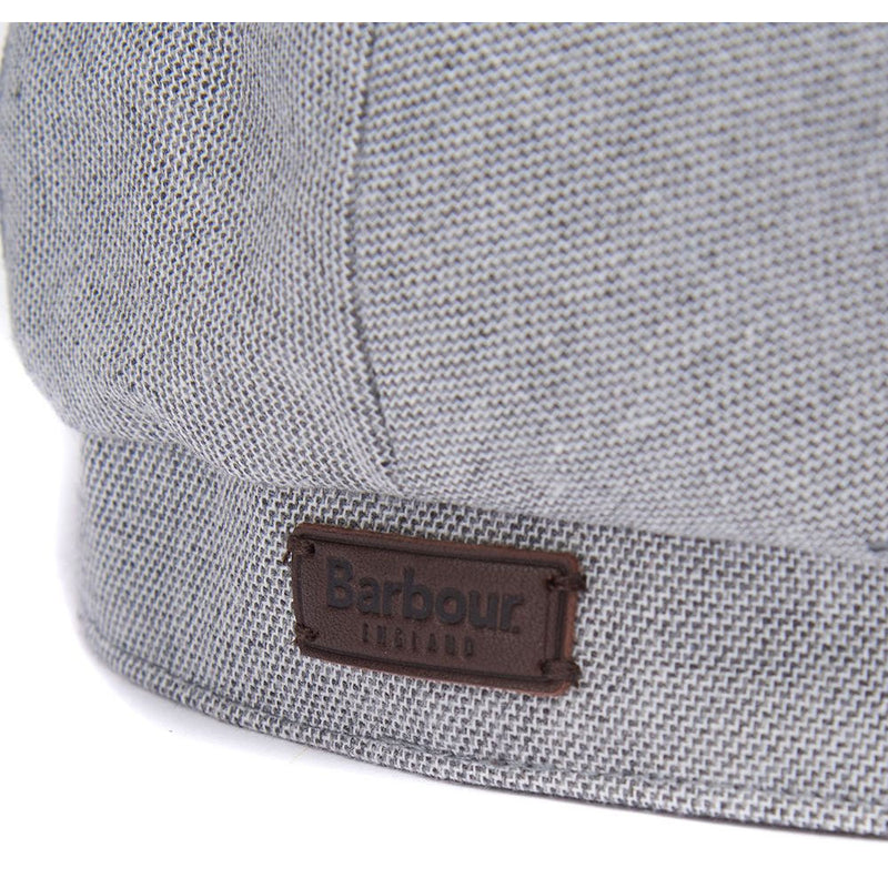 Barbour Hetton Flat Cap Grey