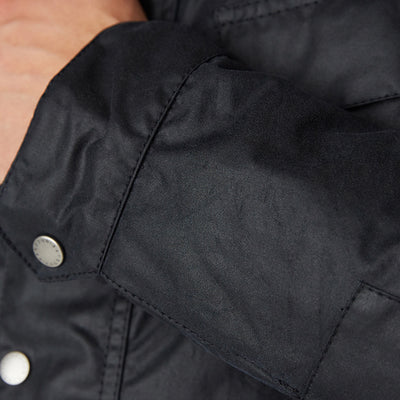 Barbour International Duke Waxed Jacket Navy