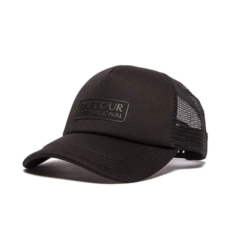 Barbour International Heli Trucker Cap Black