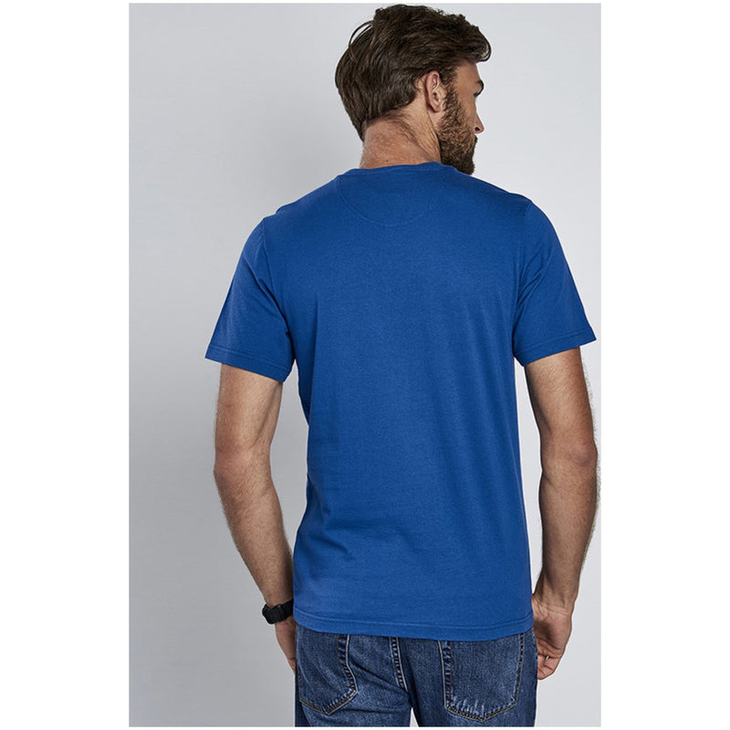 Barbour International Logo T-Shirt Monaco Blue