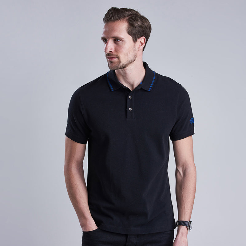Barbour International Polo Shirt Black