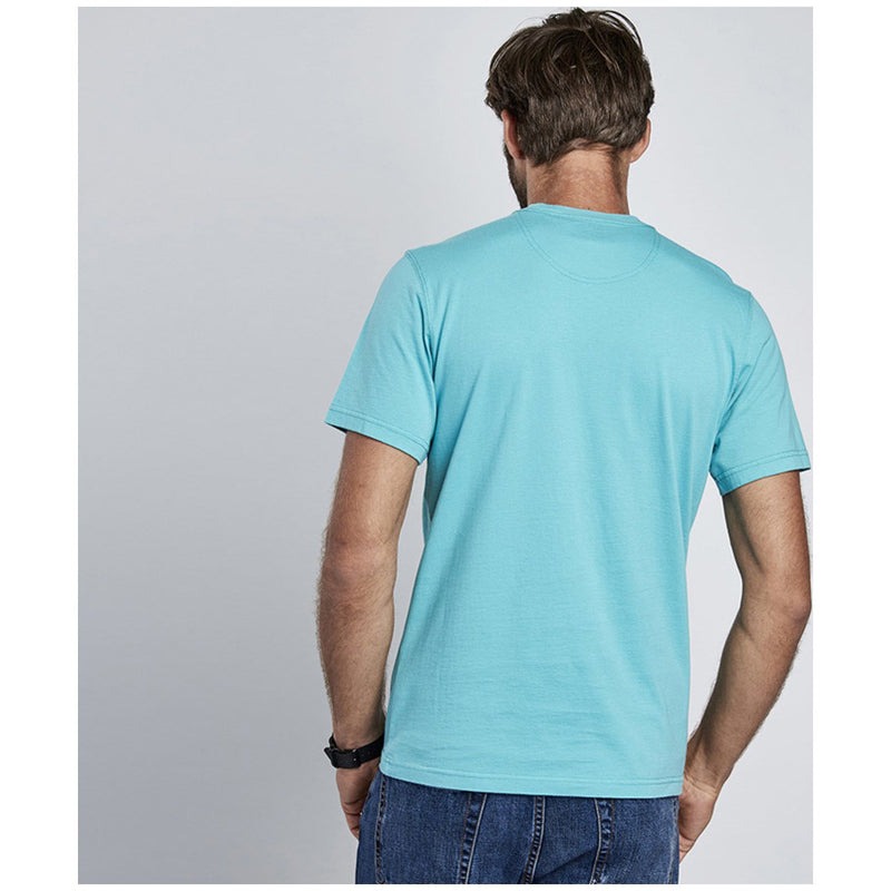 Barbour International Small Logo T-Shirt Turquoise