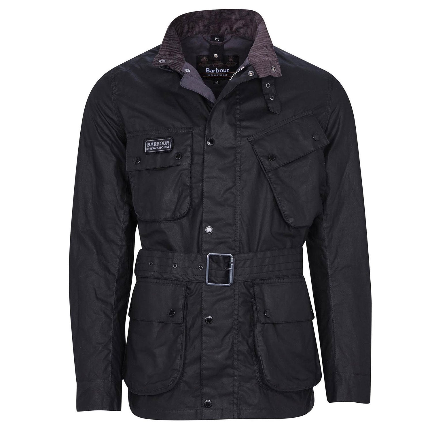 Barbour International Lightweight SL International Wax Black