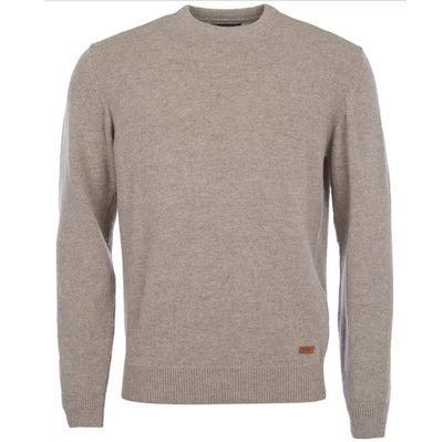 Barbour Patch Crew Jumper Stone