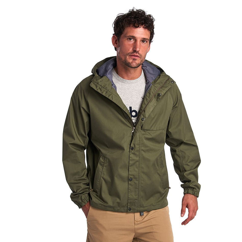 Barbour Reginald Waterproof Jacket Dusty Olive