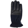Barbour Rugged Melton Wool Leather Mix Gloves Navy Black