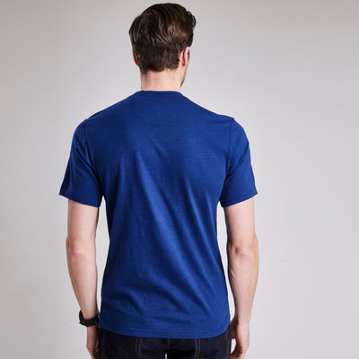 Barbour Steve McQueen Auto T-Shirt Inky Blue