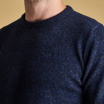 Barbour Tisbury Crew Neck Jumper Navy