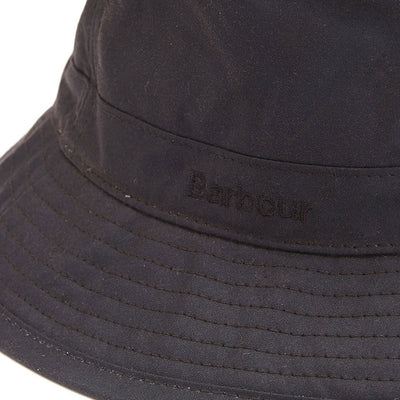 Barbour Mens Wax Sports Hat Rustic