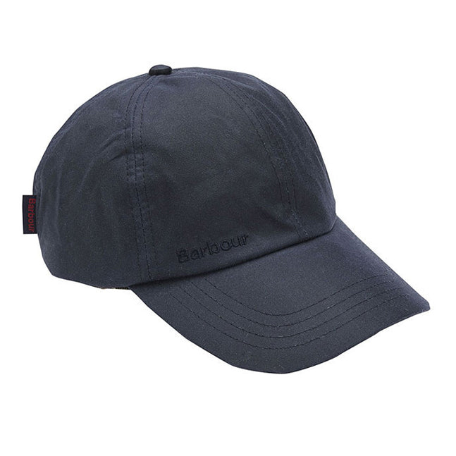 Barbour Mens Wax Sports Cap Navy