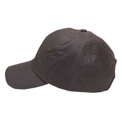 Barbour Mens Wax Sports Cap Rustic