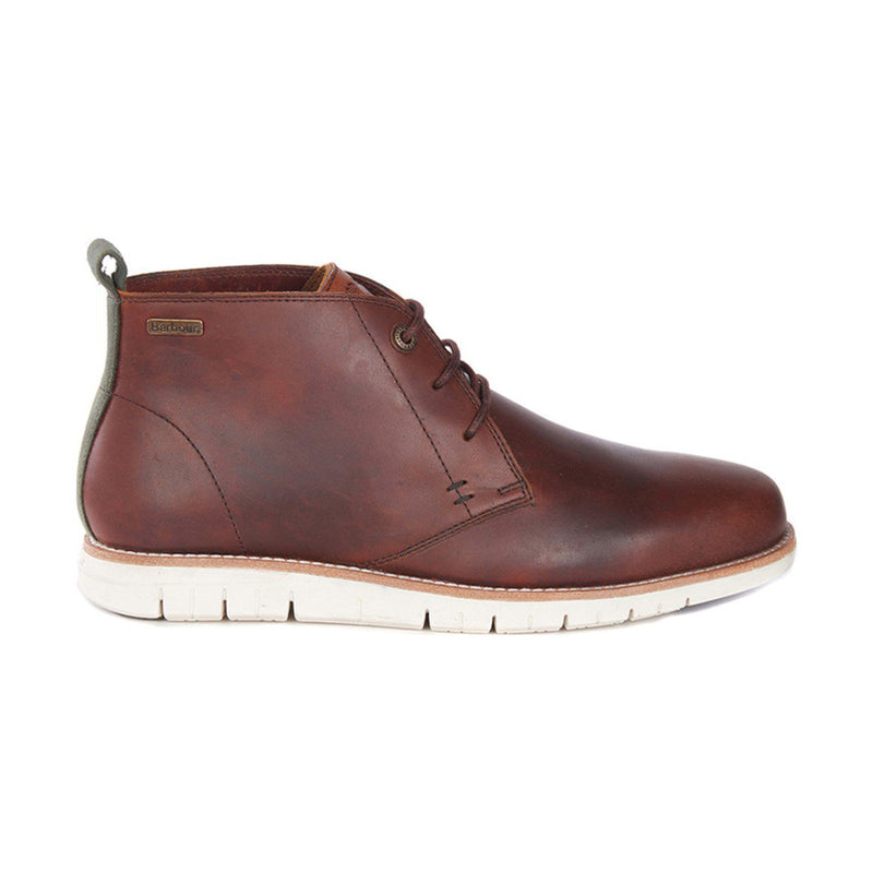 Barbour Burghley Chukka Boots Chestnut
