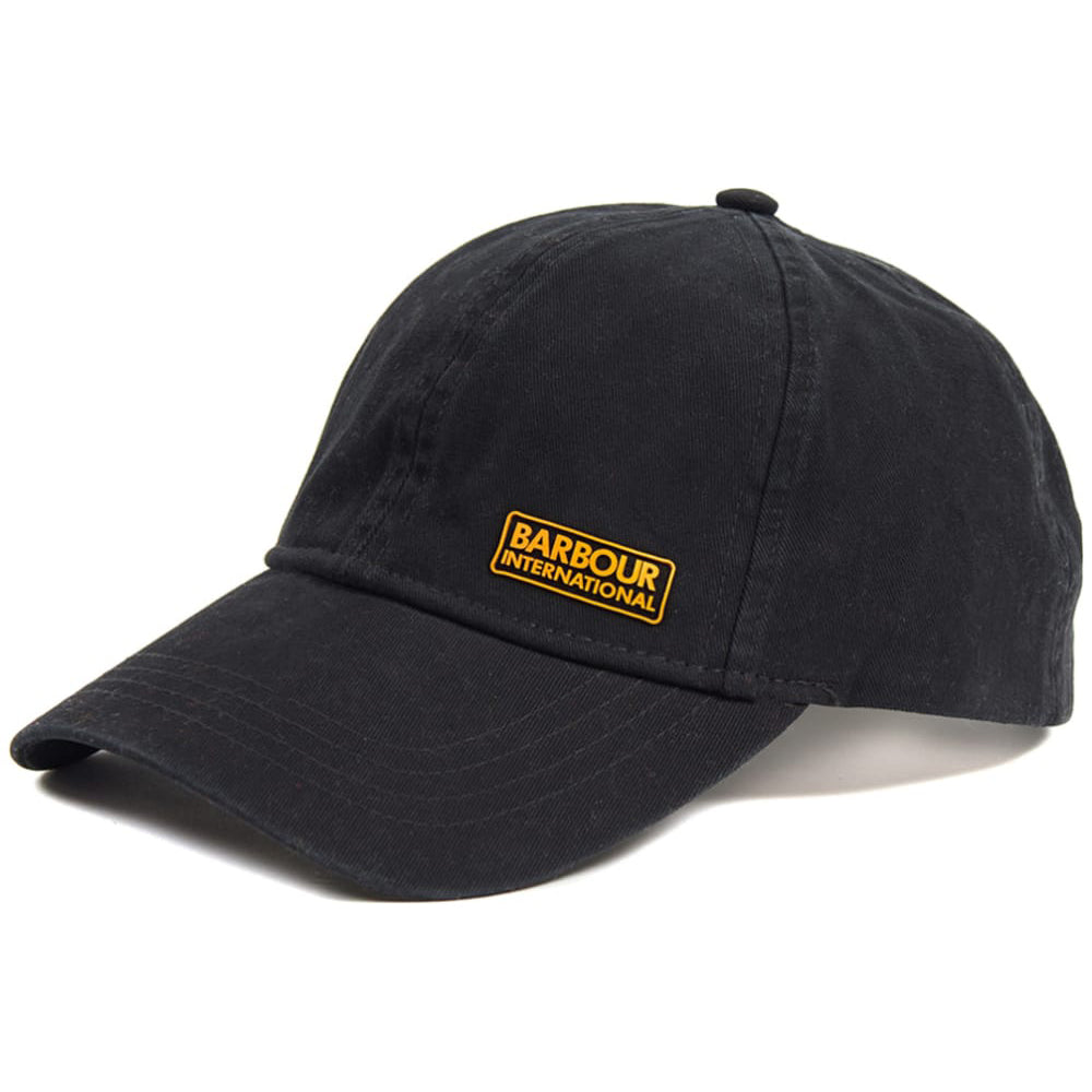 Barbour International Norton Drill Baseball Cap Black