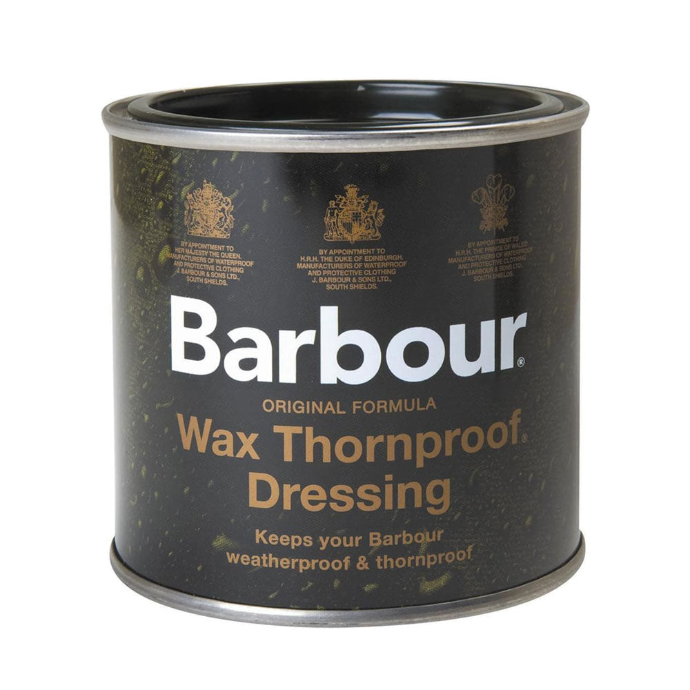 Barbour Wax Thornproof Dressing Tin 200ML