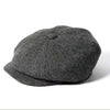 Failsworth Carloway Harris Tweed Bakerboy Newsboy Cap 2012