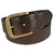 Charles Smith 38mm Casual Leather Belt Dark Brown 30025